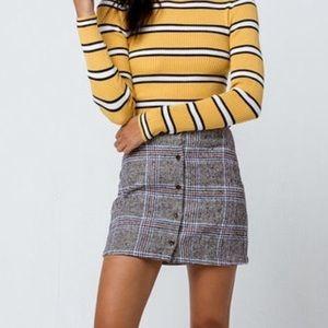 Ivy + Main Plaid Skirt